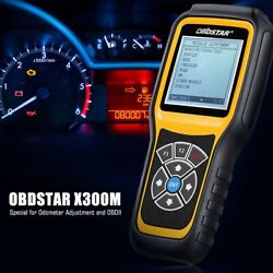 Obdstar X300m Odometer Correction Tool Mileage Adjustment Diagnostic Scan Obd2ii