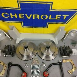 42-48 Chevy Car Mustang Ii Coil-over Ifs Stock 5x5.5 Manual Lhd Rack Street Rod