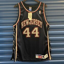 Autographed Nwt New Jersey Nets Keith Van Horn 48 Authentic Champion 44 Blue Xl