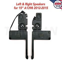New Left And Right Speaker For 15 Macbook Pro A1398 2012-2015 923-0660 609-0339-a
