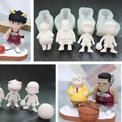 Doll Figurines Mold Japanese Anime Heroes Silicone Molds For Making Dolls Craft