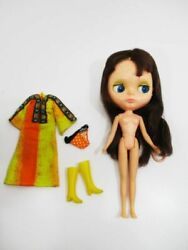 Vintage Blythe Brunette Doll Figure Toy Collection Jp