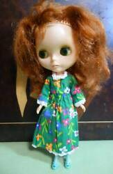 Vintage 1972 Blythe Red Brown Hair Doll Figure Toy Collection Jp