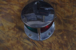 Boat Bow Light Vintage About 5 Inches Wide And Works Well