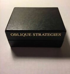 Brian Eno - Oblique Strategies Cards 2001 - Over One Hundred Worthwhile Dilemmas