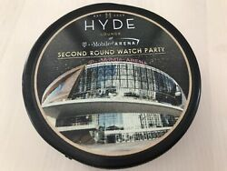 Vegas Knights Hyde Lounge Second Round Watch Party Puck T-mobile Arena- Rare