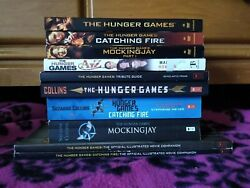 Lot Of The Hunger Games Books And Dvds
