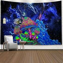 Abstract Psychedelic Tapestry Wall Hanging Throw Blankets Bedspread Home Decor