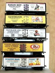Ho Custom Lettered Lot Of Five 5 Black Americana Collection Reefers Lot C