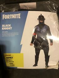 Fortnite Black Knight Halloween Costume Adult X-large -sold Out