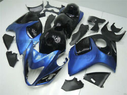 Injection Plastic Black Blue Complete Abs Fairing Fit For Gsxr1300 2008-2018 Aae