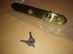 Larson Replacement Sliding Glass Patio Door Mortise Lock And Key Cylinder Trim
