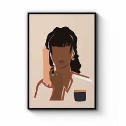 A Deadly Woman Retro Assassin Wall Art Print Poster Framed Or Canvas
