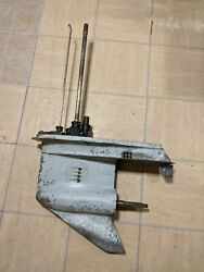 1979 Johnson Evinrude 100hp Lower Unit / Gearcase Assembly 2