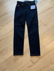Chaps Size 00 Icon Blue Slimming Fit Womenand039s Jeans Nwt Msrp 59.00