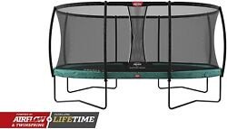 Berg Toys 30.36.75.70 Champion Trampoline 17 Ft And Safety Net Deluxe