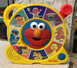 Sesame Street Talking Friends Elmo See And039n Say By Mattel - 8 Characters Rare