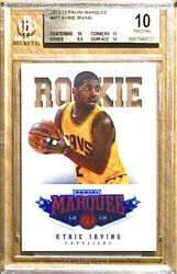2012 Pop 1 Kyrie Irving Rookie Rc Panini Marquee 471 Bgs 10 Pristine