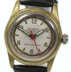 Rolex Oyster 3478 Antique Silver Dial Hand Winding Ladies Watch_565245