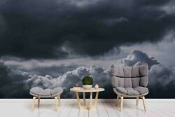 3D Cloudy Sky Wallpaper Wall Mural Removable Self adhesive Sticker