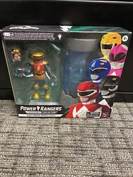 Hasbro Lightning Collection Mighty Morphin Zordon And Alpha 5 In Hand Fast Ship