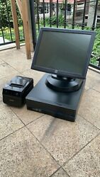 15 Touchscreen All In One Pos System Restaurant Point Of Sale Printers