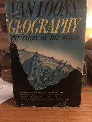 Geography The Story Of The World Van Loon Garden City 1937 Map Globe Atlas