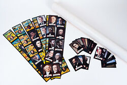 1980 Kellogs 39 Us Presidents Card - Sticker And Poster Mail Away Premium Complete