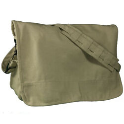 Mafoose Canvas Courier Messenger Shoulder Crossbody Tote School Bag $14.99