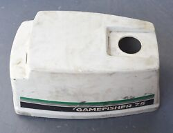 7.5 Hp Sears Gamefisher Pull Start Gas Tank And Cowling Hood