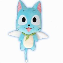 Hot Anime Fairy Tail Happy Cosplay Lovely Cute Plush Doll Pillow Toy Gift 56cm