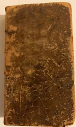 Antique Leather Bound Book 1692 English 5th Volume Of Letters Turkish Spy London