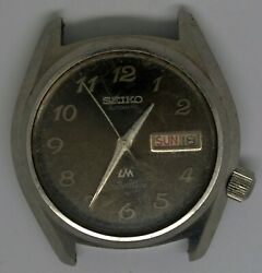 Vtg Seiko Silverwave Steel Wristwatch. Ref 5216-8030 Cal 5216a. For Repairs