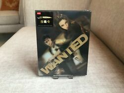 Wanted HDZETA Blu Ray Silver Label Steelbook Limited to 300 Pieces Only Brand Ne $145.00