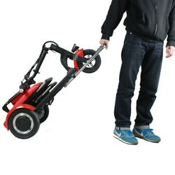 Trikaroo Joey 2.0 Red 3 Wheel Electric Foldable Mobility Scooter Seats One