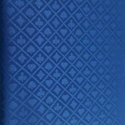Blue Suited Speed Cloth Poker Table Felt 100 Polyester 120x60 New