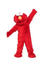 For Rent Elmo Red Mascot Costume Sesame Party Birthday Halloween Event
