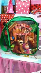Masha and the Bear Party Favors Personalized Bags Backpacks Themed Pack of 50 $525.00