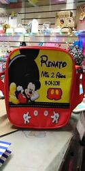 Mickey Mouse Party Favors Personalized Bags Backpacks Themed Satchels Pack of 50 $525.00