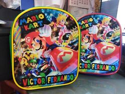 Mario Bros Luigi Party Favors Personalized Bags Backpacks Themed Pack of 25 $300.00
