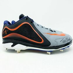 2012 Torii Hunter Detroit Tigers Player Exclusive Cleats Game Used Autographed