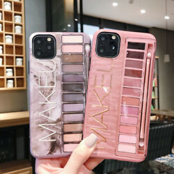 Luxury Nude color Makeup Eyeshadow Box Case Cover For iPhone 11 Pro Max XR 7 8 6 $10.99