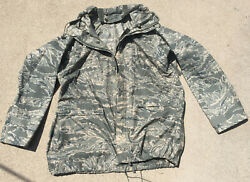 Acu Size Medium, Army, Af Orc Industries Improved Rainsuit Parka With Liner Nice