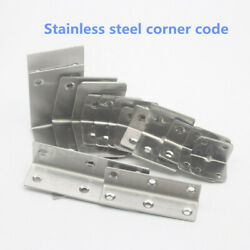 Table Corner Code Stainless Steel Right Angle Bracket Triangle Fixed