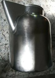 Vintage Lalance And Grosjean Crusader Ware Heavy Duty Stainless Water Pitcher Usva