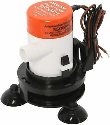 350 Gph Boat Livewell Aeration Pump System Kit And Aerator Tube Clips Cup Base Ean