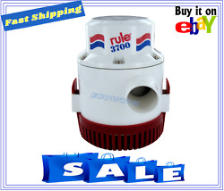 Rule 32v Ignition Protected Non-automatic Bilge Pump 3700 Gph