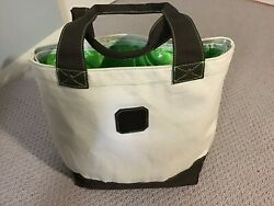 PATRON TEQUILA CANVAS INSULATED BEACH BAG COOLER BRAND NEW $18.95