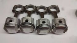 Honda Gl1000 Gold Wing Gl 1000 Engine Pistons Connecting Rods .60 Over  Ns-2