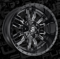 20x10 Fuel D595 Sledge 33 At Wheel And Tire Package 5x5.5 Ram 1500